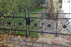 Restaurierung-Zaun-Tor
