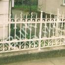 Zaun nach histoschem Vorbild geschmiedet