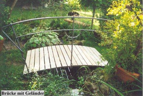 Gartenbrücke