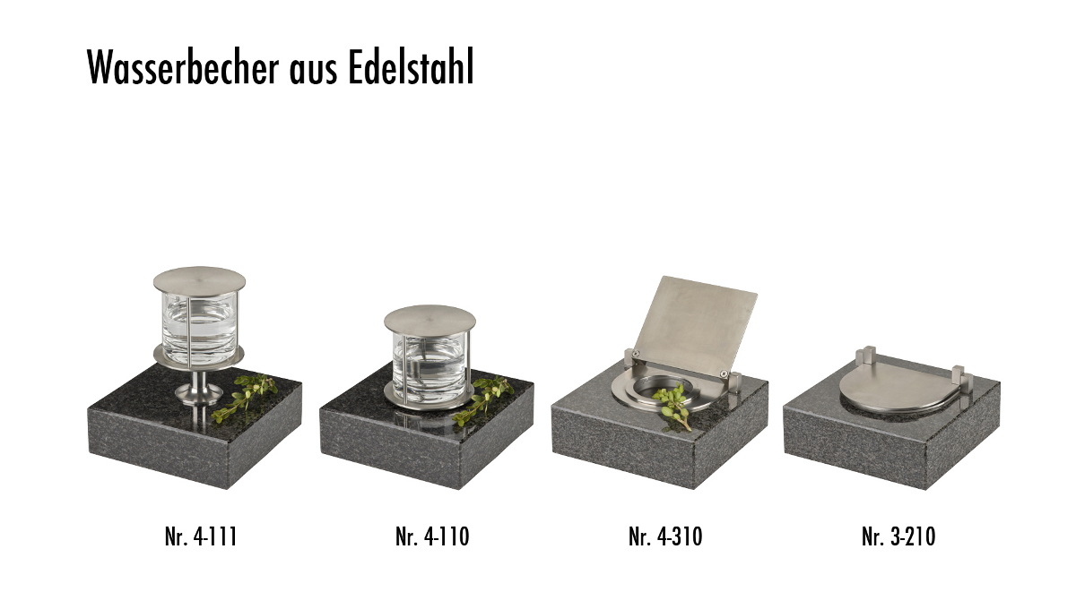 Wasserbecher im Burk-Design