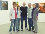 Kunstausstellung 2010, die teilnehmenden Künstler in Grohlsheim an der Nahe