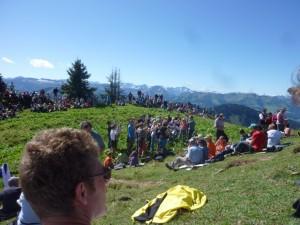 Bergmesse auf dem Seelekopf bei Steibis-Oberstaufen im Allgäu 2011 (2)
