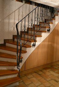altes Treppengeländer