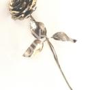 Rosen geschmiedet aus Eisen natur oder veredelt, jede Rose ein Unikat